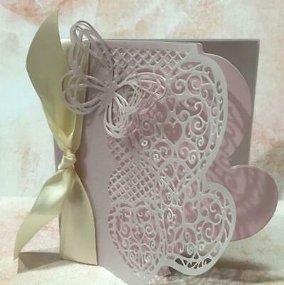 Hearts Border Edge Metal Cutting Dies Scrapbooking Embossing Paper Cards Making