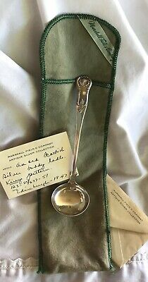 Kings Pattern Scottish Silver Toddy-Sauce Ladle Edinburgh 1847 Hallmarked