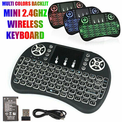 Mini teclado inalámbrico Fly Air Mouse Touch pad para PC Smart TV Box Netbook