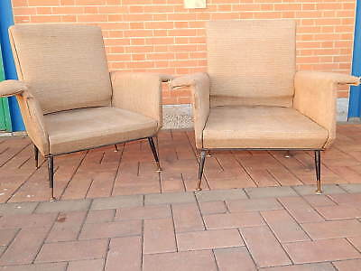 Pair of Chairs 50 Years Italian Made