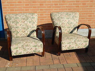 PAIR CHAIRS '50 Armchairs 50s