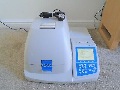 Cem Smart Turbo 5 Air Moisture Solids Analyser Automatic Lab Testing Machine Uk