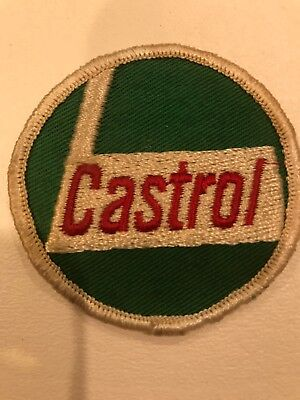 "Castrol Oil Patch, Approximately 2 1/2""  Round, Free Shipping"