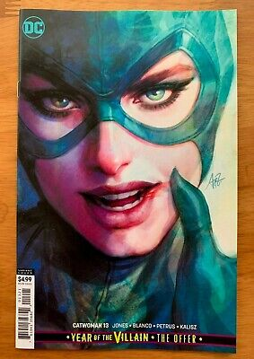 CATWOMAN 13 Artgerm Lau Cardstock Variant YOTV the Offer DC 2019  NM+  7/10