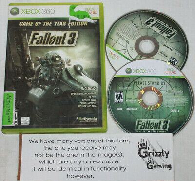 USED Fallout 3 Game of the Year Edition Microsoft Xbox 360 (NTSC)