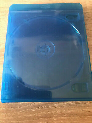 2 Empty NEW  blue Blu-Ray 2 inlain tray Cases 23mm Premium for 6 discs