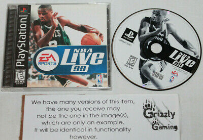 USED NBA Live 99 Playstation One PSX (NTSC)