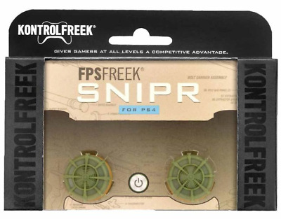 Brand New Sealed KontrolFreek FPS Freek Snipr for PlayStation 4 PS4 Controller