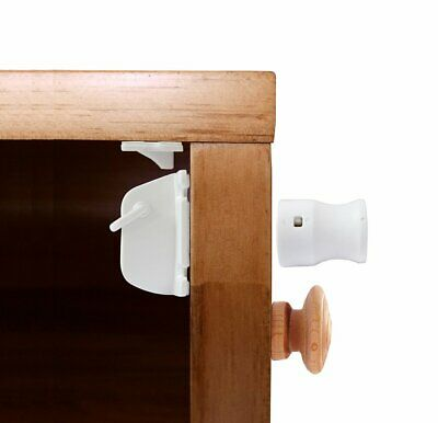 Child Safety Magnetic Cupboard, Cabinet and Drawer Lock Set by Bertie and Wren,