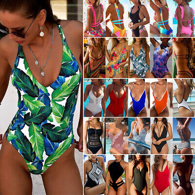 Bnwt Ladies Foclassy Swimsuit Size 12-14 Customers First Women's Clothing