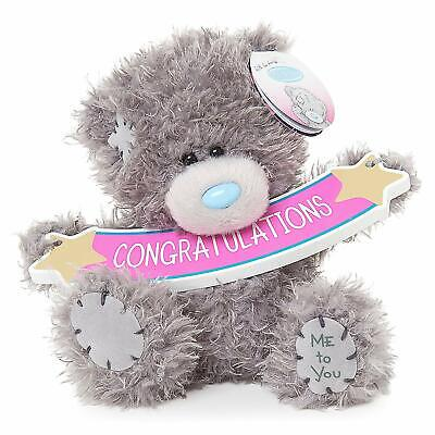 Me To You Congratulations Banner Tatty Teddy Bear Gift