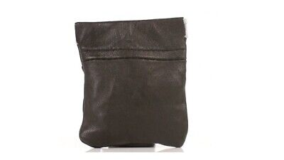 Leather Snap Top Coin Purse Wallet Colours Coins Gents Ladies Mens 1476
