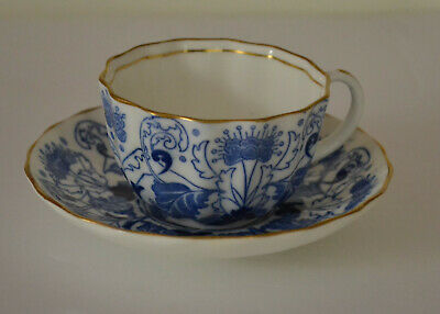Antique Royal Doulton Demitasse Cup With Saucer