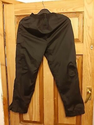 Peter Storm Black Casual Trousers Age 9-10 Years