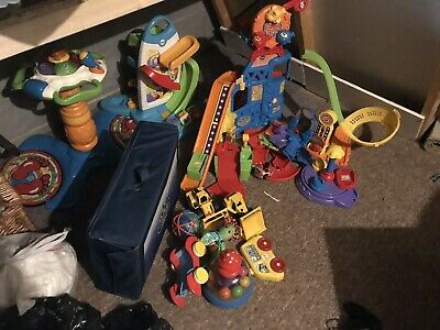 Job Lot Childrens Toys Cars Garages Diggers Toddler Stand Up Toys