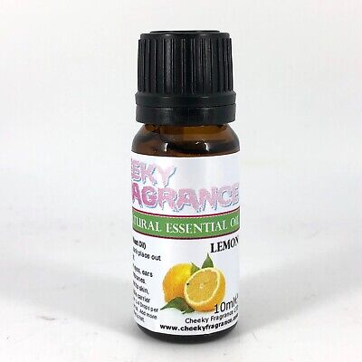 Pure & Natural LEMON Essential Oil 10ml by Cheeky Fragrance