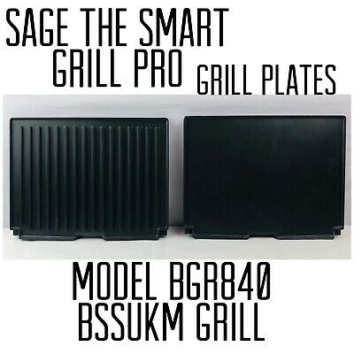 Sage The Smart Grill Pro BGR840 BSSukm Grill Plates Only