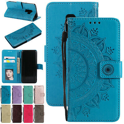 For Samsung A50 A70 A30 Case Luxury Magnetic Leather Flip Card Slot Stand Cover