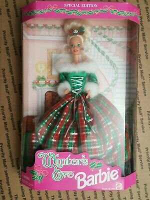 1994 Special Edition Winters Eve Barbie Doll #13613 NIB great condition