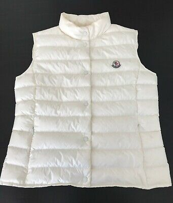 Details about MONCLER BLOWOUT SALE! Gallinule Women's Vest Size 2. *Imported from Italy*