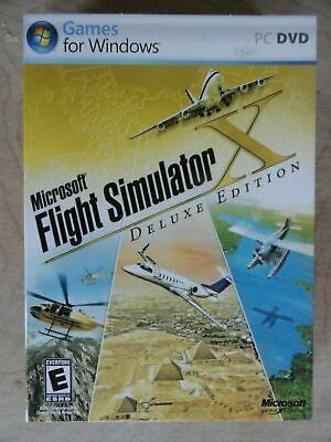 LEARN TO FLY Pilots Training Aviation Flight Simulator X DELUXE For