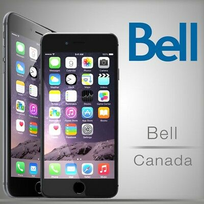 Bell Virgin Iphone Unlock Canada - All Models Clean - 100% Fast