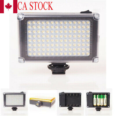 CA Rechargable LED Video Light Lamp Photo Studio Wedding Party for DSLR Camera
