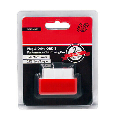 Red Eco OBD2 Economy Fuel Saver Tuning Box Chip For Diesel Car Gas Saving Tool