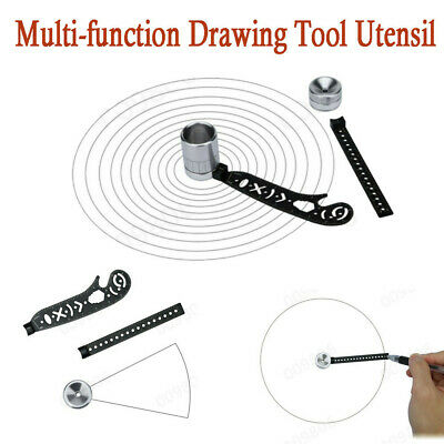 EDC Stationery With Magnet All In One Multi-function Drawing Tool Utensil