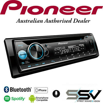 Pioneer DEH-S5150BT Car Stereo with Dual Bluetooth, Spotify Connect, Siri Eyes F