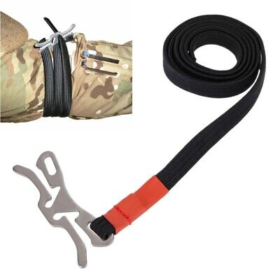 US EDC Outdoor Release First Aid Survival Emergency Tourniquet Rope Medical Tool