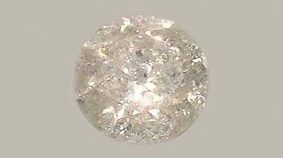Antigüedad 19thC a ½ CT+ Siberiano Diamante Medieval Real Gema Fearless Virtue