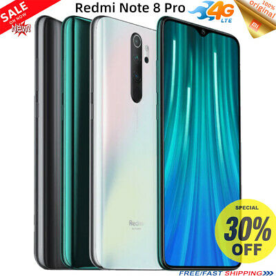 Xiaomi Redmi Note 8 Pro/Note 8T 64/128GB Octa Core 64MP Cam 4G Smartphone Mobile