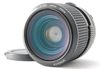 Excellent+++++ MINOLTA NEW MD 35-70mm F/3.5 MACRO ZOOM Lens NMD From Japan
