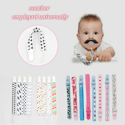 Baby Anti-lost Dummy Clip Holder Pacifier Soother Nipple Strap Chain Adjustable