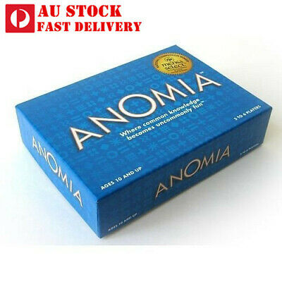 ANOMIA - Card Game - Where Common Knowledge Becomes Uncommonly Fun - AU STOCK