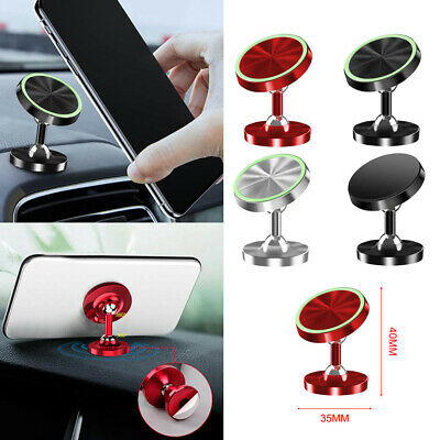 360° Magnetic Car Dashboard Phone Holder Mount Stand Accessory For Cellphone GPS