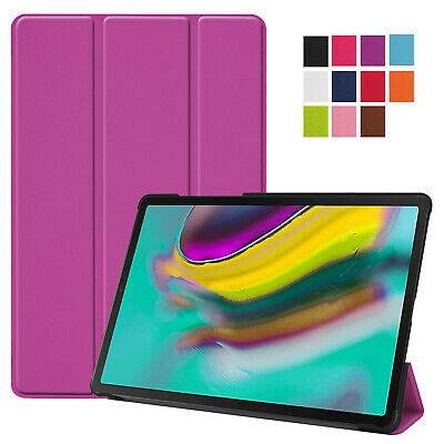 Smart Leather Tablet Case Cover For Samsung Galaxy Tab S5e T720 T725 2019
