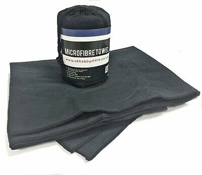 Extra Large Super Absorbent Microfibre Towel ~ Ultra Compact & Lightweight ~