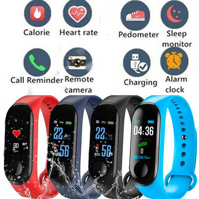 Fitness Blood Pressure SmartWatch Activity Tracker Fitbit Android iOS Heart Rate