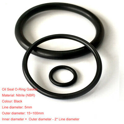 OR100X5 Nitrile O-RING 100 mm x 5 mm