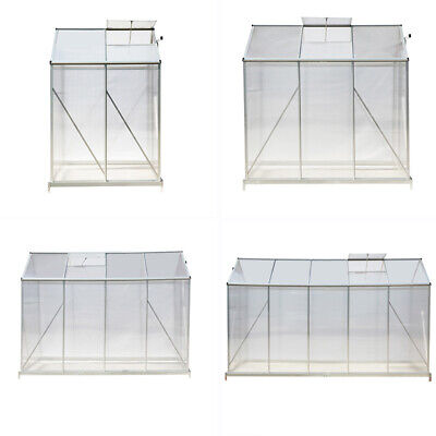 Garden Structure Shade Greenhouse Growhouse Aluminium House Plants Shed Outdoor