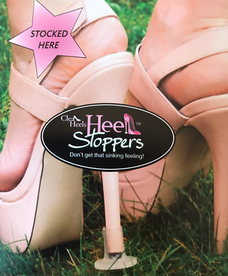 50% OFF SALE - Clean Heels Heel Stoppers Wedding High Heel Shoe Protector