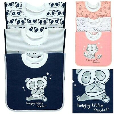 George Disney Baby Girls Boys Bandana Feeding Bibs Character Gift Set 3 Pack