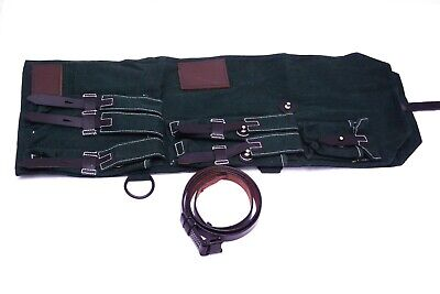 WW2 German MP SMG Carry Case - Repro Soldier Army Webbing Carrier Bag GREEN