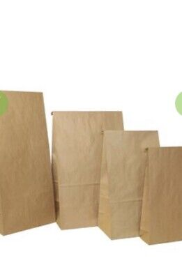 Brown Paper Bags 180x110x355 Approx 200 Units