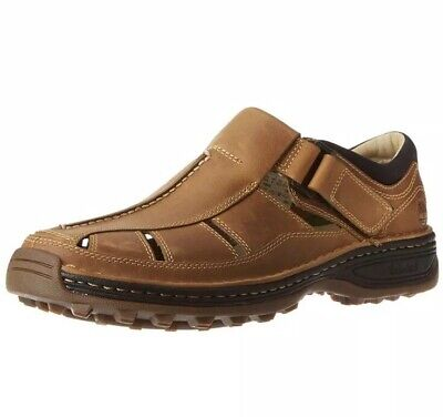 MEN'S TIMBERLAND ALTAMONT Fisherman Sandals LIGHT BROWNTAN
