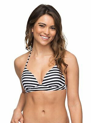 Roxy 'Essentials' Tri Moulded Bikini Top - Various Sizes Available (15345)
