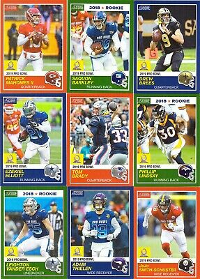 dc59a534 2018 2019 Panini Instant 1989 Score Pro Bowl 30 Card Set - Only 270 made!