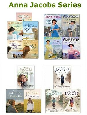 Anna Jacobs Series Collection Trader, Family Gibson, Rivenshaw Saga, Hope Trilog